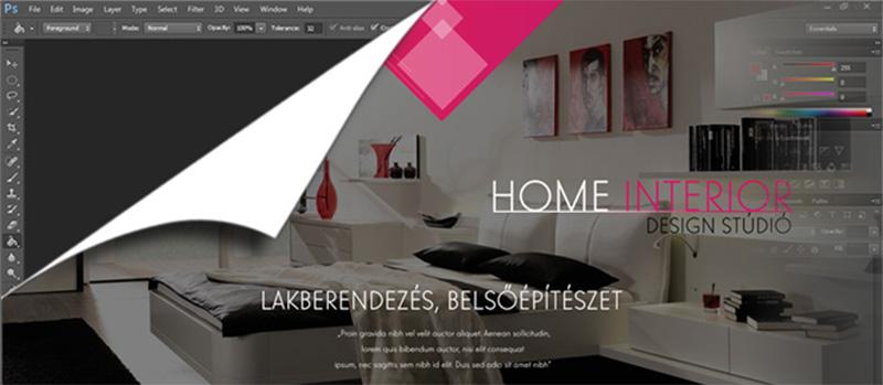 webdesign top image
